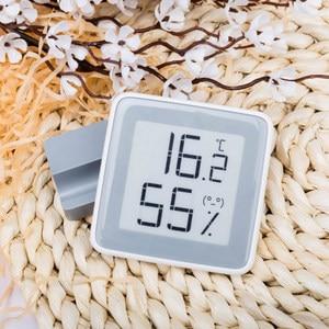 Image 4 - Xiaomi miaomiaoce eリンクインク画面デジタル水分計の液晶画面高精度温度計温度湿度センサー