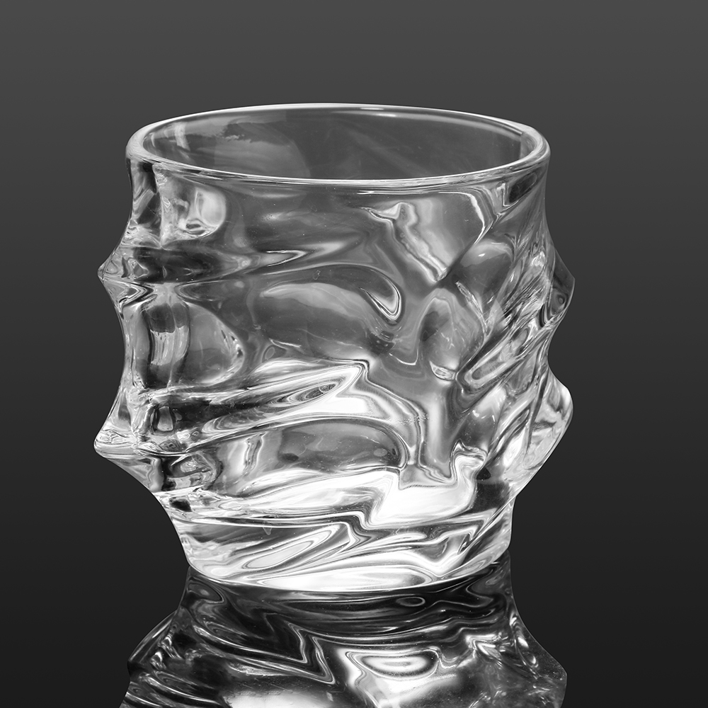 Old Fashion Whirlwind Whiskey Glass 1