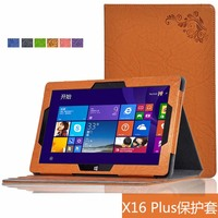 Luxury Print Fold Stand PU Leather Skin Magnetic Closure Case Protective Shell Cover For Teclast X16