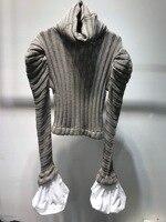 2019 новый свитер 100% шерсть два цвета три ярдов для женщин водолазка
