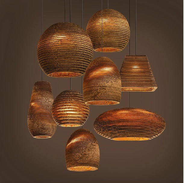 ФОТО paper designer pendant lamp dinning room light indoor decoration lighting fixture free shipping