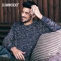 SIMWOOD 2016 новых осень зима старинные свитер моды для мужчин пуловеры красочные моде Вязаные MY2052