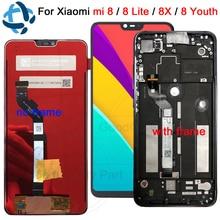 Сменный сенсорный ЖК дисплей, для xiaomi mi 8 lite mi8 Youth, 6,26 дюйма