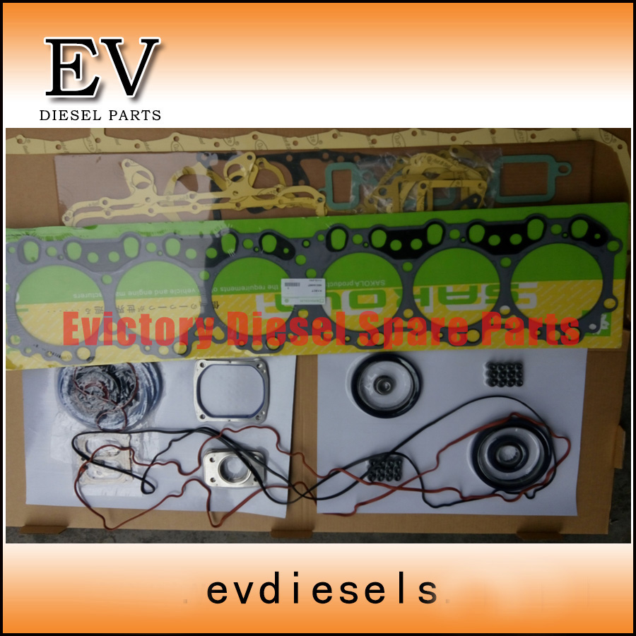 K13C K13CT Full engine overhaul gasket+cylinder head gasket for Hino truck|gasket|gasket head|gasket cylinder head - title=