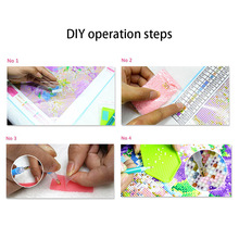 Painting Drawing 5D Rhinestone DIY Space Craft For Home Wall Bedroom Art Decoration Hot Sale