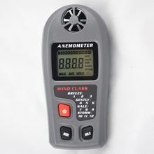 High-precision Anemometer Wind Speed Meter Design Wind Tester Portable Operation Automatically Wind Meter Anemometer 5 in 1 environment meter thermometer hygrometer anemometer wind speed sound level light meter air velocity humidity tester