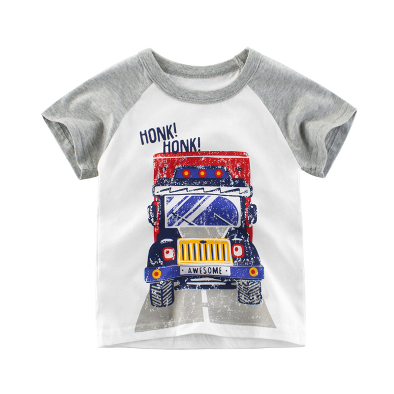 2020 Boys Tops Clothes for Children <font><b>2</b></font> 3 4 5 6 7 8 Years Children Baby Toddler Boys T <font><b>Shirts</b></font> Cotton Summer Kids Clothes image