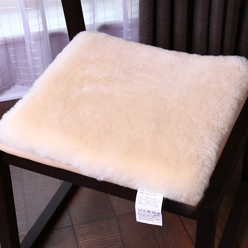 WonderFur Sheepskin Fur Small Rug 50cm*50cm Amazing Sheepfur Cushion Throw  For Chair In Living Room,square Fur Chair Mat  In Mat From Home U0026 Garden On  ...