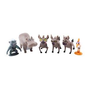 Image 3 - 12 pçs/set dos desenhos animados o leão guarda rei leão simba pvc figuras de ação bunga beshte fuli ono figurinhas boneca crianças brinquedos crianças meninos