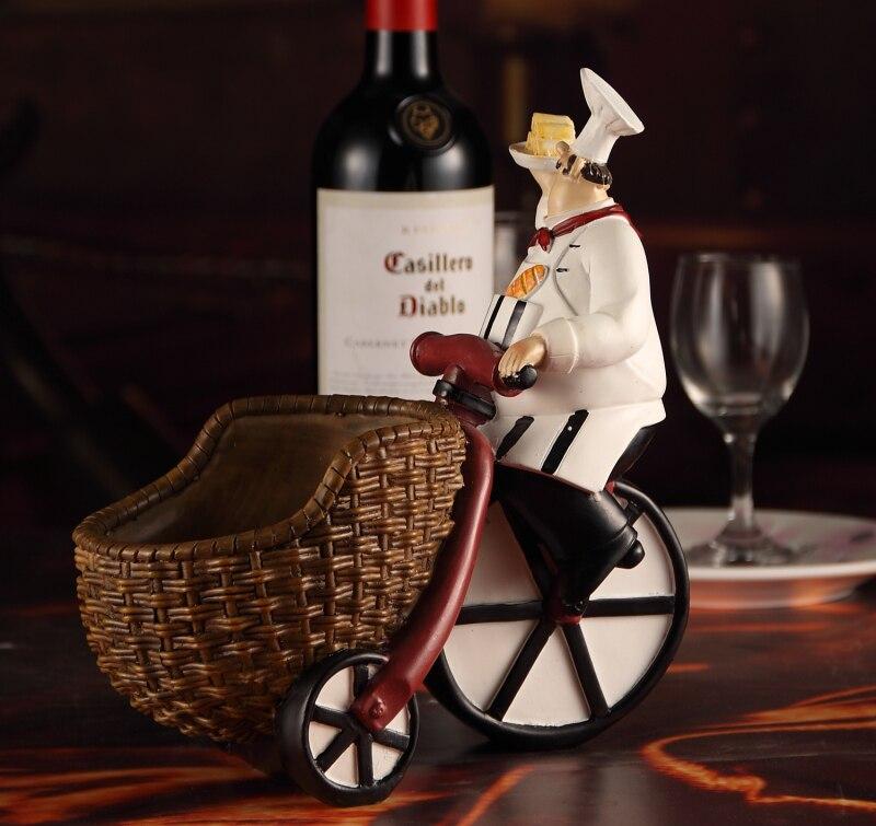 Cremalheira do vinho/Bar restaurante café enfeites criativos/resina Europeia vermelho/vinho De Mesa Mobiliário de Casa decoração sala de estar/z - 3