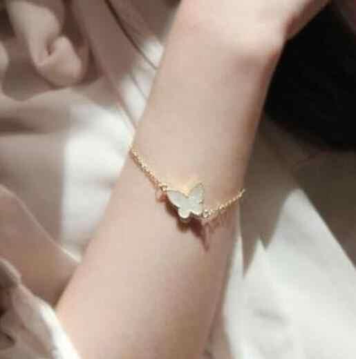 Meilleur cadeau 2019 nouvelle mode alliage pêche coeur pentagramme papillon fausse perle collier Bracelet bijoux accessoires 1 pièces