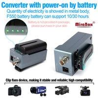 MiraBox Батарея конвертер hdmi для sdi поддержка 1080 P 1080i full HD HDMI к SD SDI/HD SDI/3G SDI BNC адаптер с Батарея зарядки
