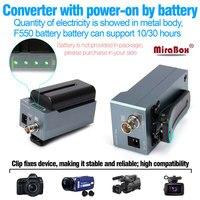 MiraBox батарея конвертер hdmi к sdi поддержка 1080 P 1080i full HD HDMI к SD SDI/HD SDI/3G SDI BNC адаптер с батарея зарядки