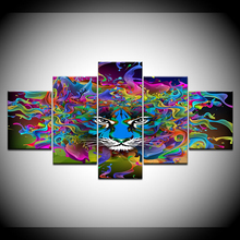 5pcs DIY Diamond Painting Abstract Tiger Full Square Embroidery Mosaic Picture Of Rhinestone H360