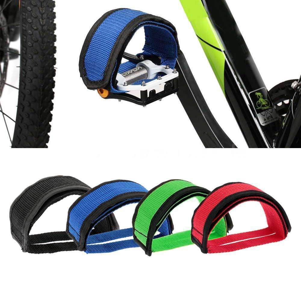 1PC Fixie BMX Fixed Gear Bike Bicycle Adhesive Straps Pedal Toe Clip Strap Belt Cn  Suitable for fixed gear Outdoor Cycling