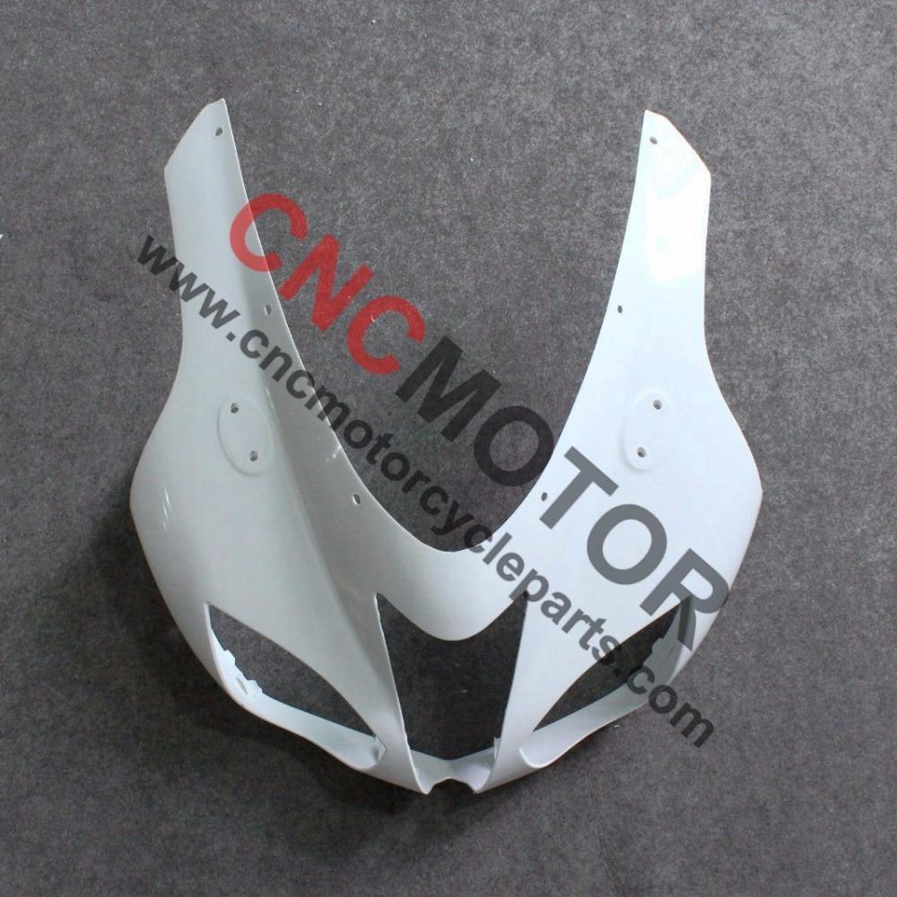ФОТО Unpainted Front upper nose top fairing for kawasaki Ninja ZX6R ZX636 ZX-6R 2007-2008