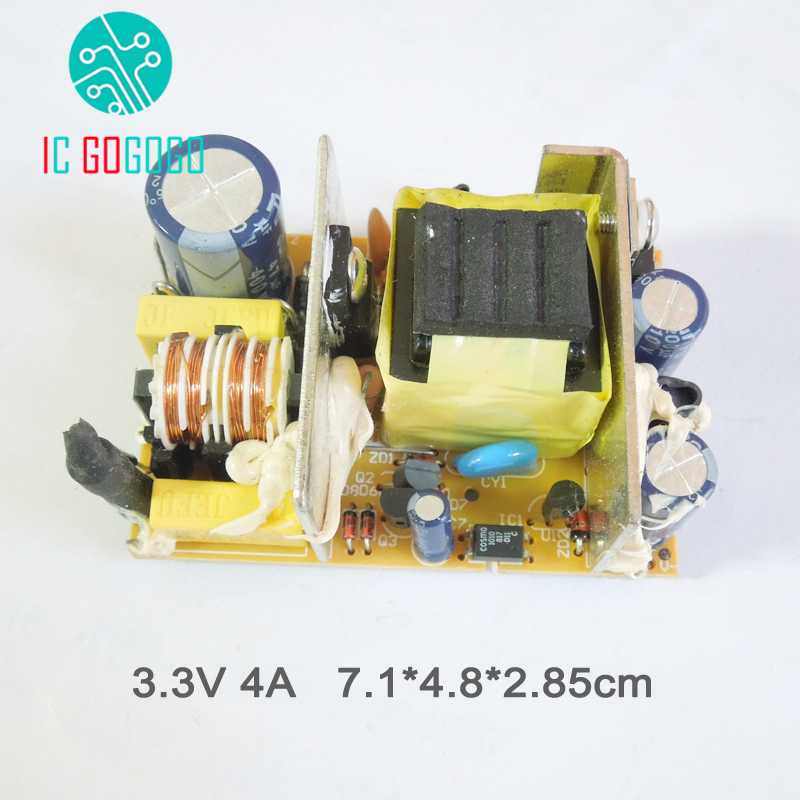US $5 07 14% OFF|AC DC 3 3V 4A Switching Power Supply Circuit Board Module  4000MA SMPS-in Replacement Parts & Accessories from Consumer Electronics on