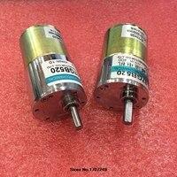 Darmowa Wysyłka 12 V/24 V 10 W miniatura DC motoreduktor niskie obroty wysoki moment obrotowy może regulowana prędkość/odwracalny elektryczny narzędzia