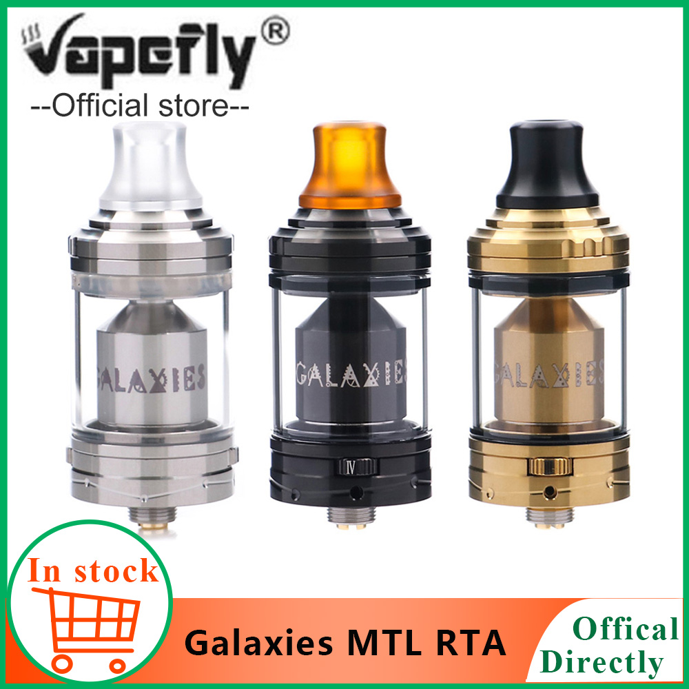 Original Vapefly Galaxies MTL RTA 3ML/5ML Capacity Galaxies MTL RTA 8 Airflow Control Brings The Best Flavor Vs Galaxies RDTA