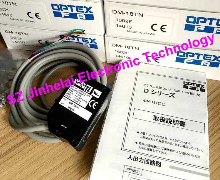 New and original  DM-18TN  OPTEX  Color code sensor new and original banner color code sensor r58acg1