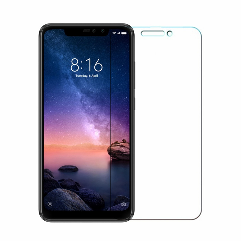 9H Tempered GLASS For Global Version Xiaomi Redmi Note 6 Pro 3GB 4GB 32GB 64GB Smartphone Snapdragon 636 Screen Protective Film in Phone Screen Protectors from Cellphones Telecommunications