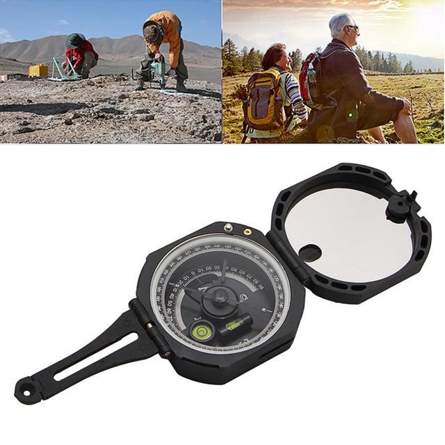 1Pc Plastic 0-360 Degrees Hiking Gear Compasses 8