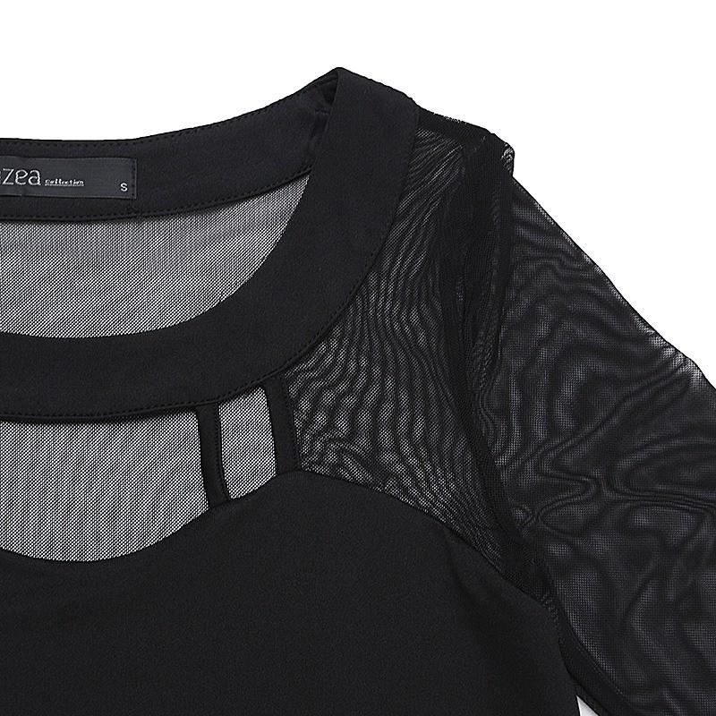 HTB1e6GYOFXXXXbzXFXXq6xXFXXXM - Autumn Sexy Long Sleeve O Neck Solid Blusas Shirts
