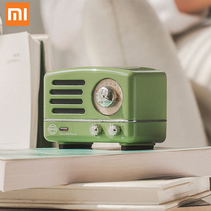 Xiaomi Maowang Bluetooth Radio Fm Speaker Retro Stijlvolle Mode Draagbare Mp3 Gift Voor Jongen Meisje Vriend Muziekspeler Cat Koning Hoge Standaard In Kwaliteit En HygiëNe
