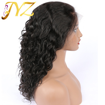 JYZ Curly Lace Front Human Hair Wigs Free Part Brazilian Remy Hair Wig 8-28 Pre Plucked Natural Hairline Lace Front Wigs sego 8 x10 lace hair system men toupee real human hair replacement machine remy wigs natural hairline front bleach knot