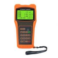 Dn32 dn6000 15-6000mm 휴대용 디지털 흐름 측정기 물 액체 초음파 유량계 고정밀 전문가