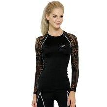 Life on Track женские футболки для бодибилдинга с длинным рукавом для активного сжатия Футболка для мужчин фитнес Mma одежда нижнее белье