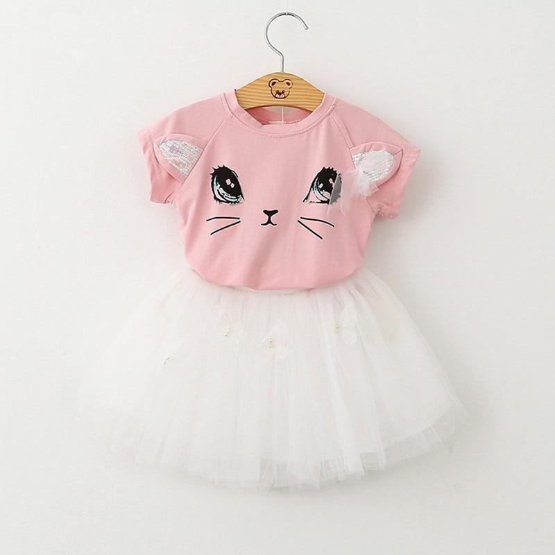 Menoea-Girls-Dress-New-2017-Clothes-100-Summer-Fashion-Style-Cartoon-Cute-Little-White-Cartoon-Dress-Kitten-Printed-Dress-5