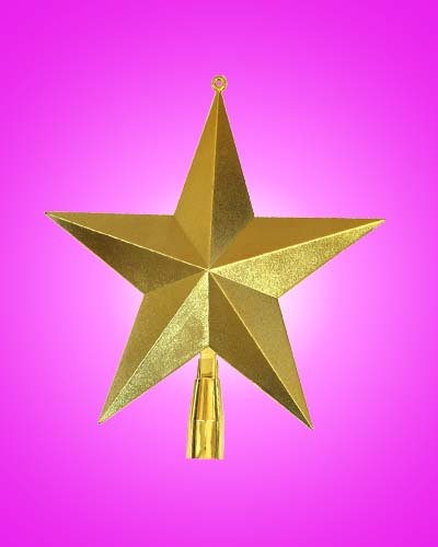 """Christmas Tree Topper X'mas Tree Top Star Christmas Arts & Crafts 6"""" Star-in Tree Toppers from ..."""