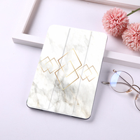 4 2 Marble Flip Case for ipad 9.7 inch 2018 2017 PU Leather Stand Cover Frosted Back Case For iPad 2 3 4 auto sleep & wake (1)