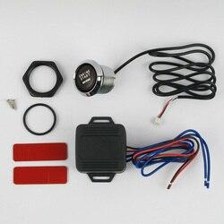 DC 12 V Push przycisk rozruchu silnika przełącznik sterowania łatwa instalacja na Off startowy samochód centralny zamek z wymiana LED światła Auto uniwersalny w Systemy bezkluczykowe od Samochody i motocykle na