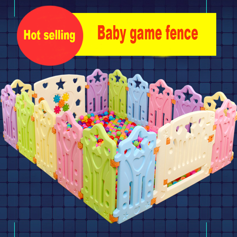 Игровой забор для детей, множество комбинаций, детский забор для ползания, ограждение для детской безопасности