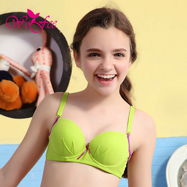 2015 Colorful Bras For Girl New Arrival Soft Wire Young -2063