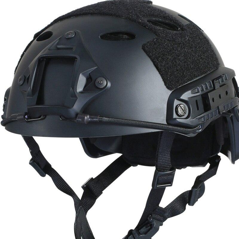 USA expédition masque militaire armée Paintball saut rapide housse de casque tactique de protection Casco Airsoft casque accessoires 4