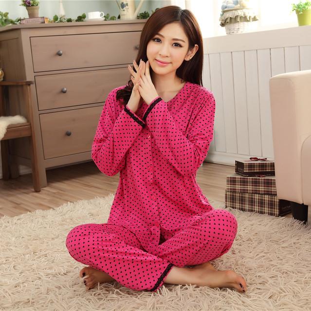 Primavera Verão 100% Pijama de Algodão Para As Mulheres Pijamas Senhoras Manga Curta Casuais Conjuntos de Pijama Pijamas Mulheres Sleepwear XXXL