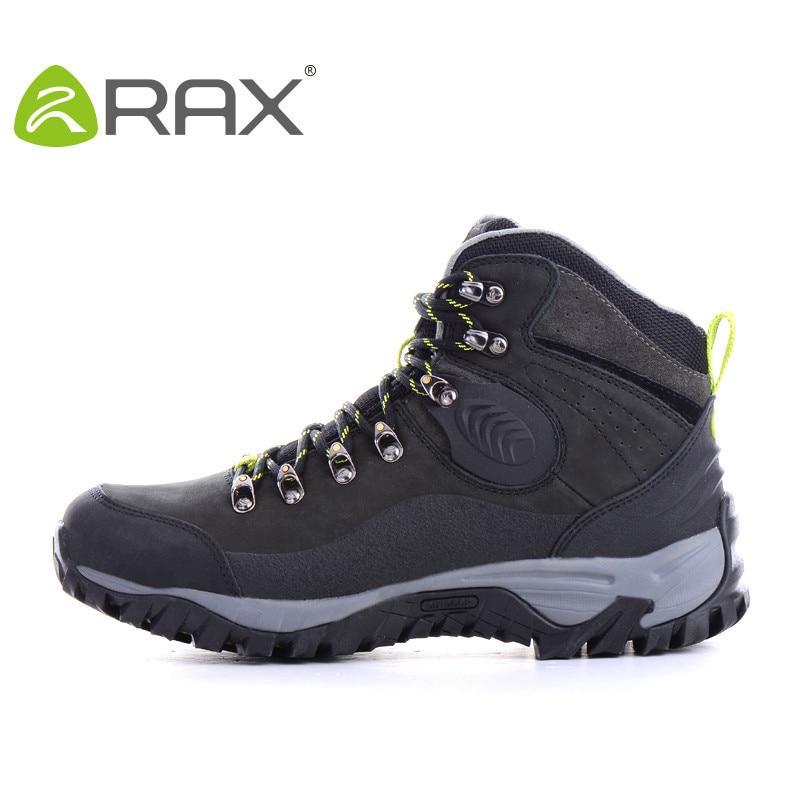 Online Shop RAX V-TEX Waterproof Hiking Boots Men Leather Trekking ...
