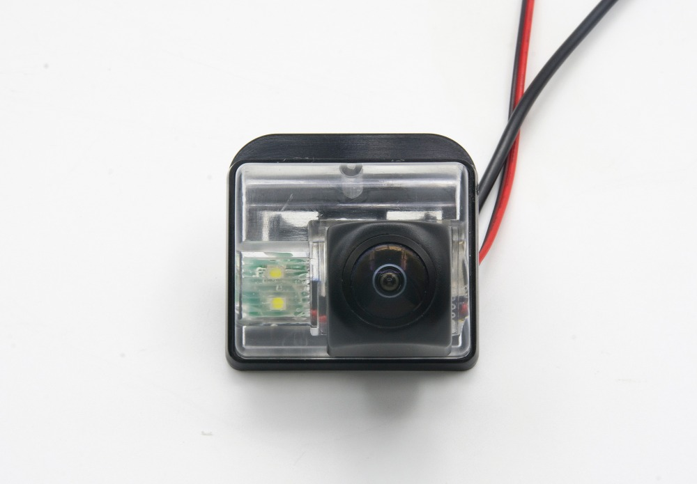 HD Fisheye 1080P MCCD Parking Rear view Camera For <font><b>Mazda</b></font> 6 2003-2013 <font><b>CX</b></font>-7 <font><b>CX</b></font>-<font><b>9</b></font> 2007 2008 2009 2010 <font><b>2011</b></font> 2012 Car waterproof image