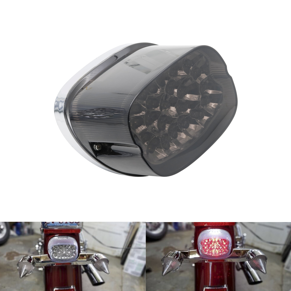 Motorcycle Tail Brake Light Lamp For 2000-2013 Harley Dyna Sportster 1200 883