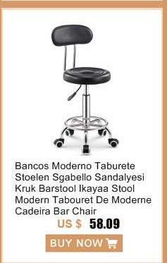 Bar Furniture Bar Chairs Bancos Moderno Taburete Stoelen Sgabello Sandalyesi Kruk Barstool Ikayaa Stool Modern Tabouret De Moderne Cadeira Bar Chair