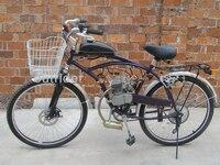 OutRider Sıcak Satış! ORK-POWERG Yüksek Kalite Yeni 48CC 2-Stroke Motorlu Gaz Motoru Motor Kiti İçin Bisiklet Bisiklet