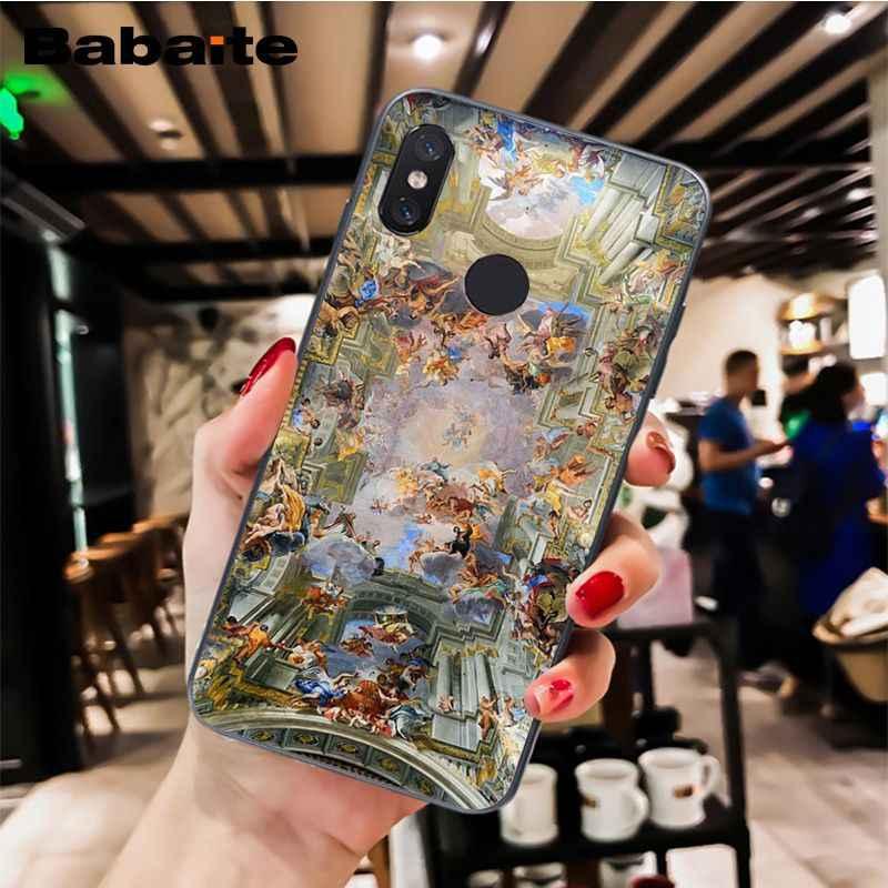 Babaite ארמון ורסאי את יצירת אדם אמנות אמונה PhoneCase Xiaomi MiA1 A2 לייט F1 Redmi 4X 5 בתוספת S2 note7 Redmi Note4