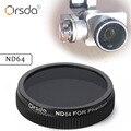 Orsda ND64 Lens Filter for DJI phantom 4 phantom 3 for Gimbal Camera Ultraviolet Filter UAV Quadcopter drone parts accessories