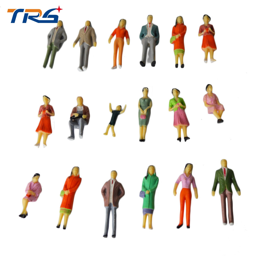scale miniature figure human plastic figures 20pcs toys wholesale abs kits hobbies font