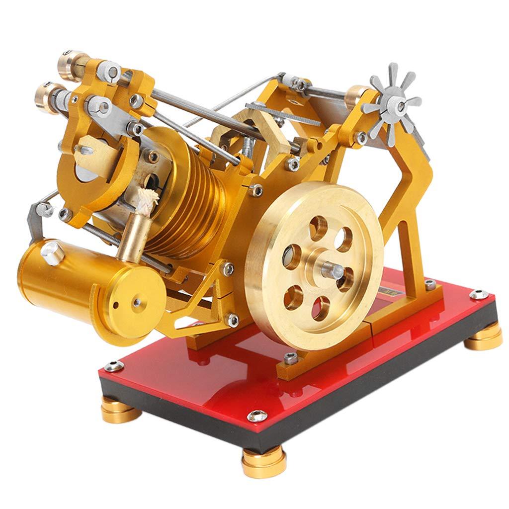 Modèle de moteur de moteur Stirling, moteur à Combustion externe, mécanisme d'expérimentation physique