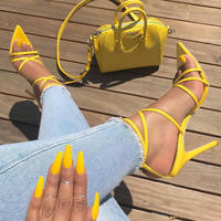 DoraTasia 2018 super sexy hot sale big size 33 48 sexy thin high heels summer sandals woman pumps party prom women's shoes