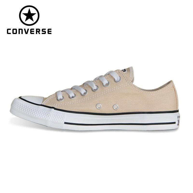 scarpe beige converse